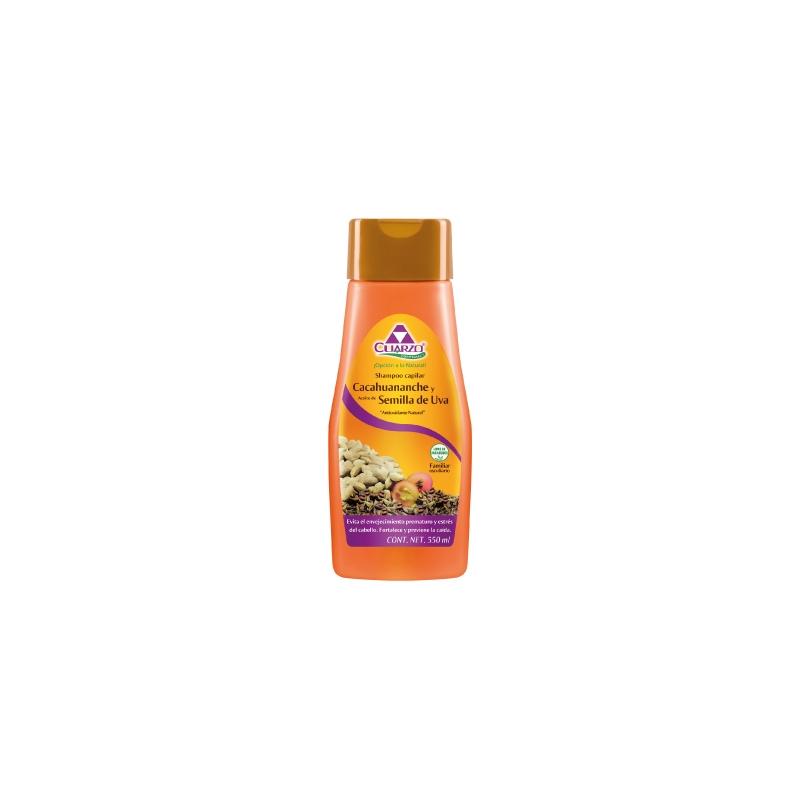 Shampoo De Cacahuananche Con Semilla De Uva