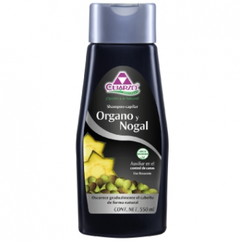 Organo tree and walnut shampoo