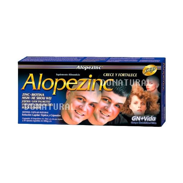 Alopezinc Ampolletas Capilares