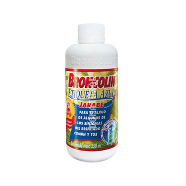 Jarabe Broncolin 250 ml.