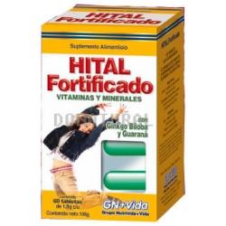 Hital Fortificado Vitaminas y Minerales Tabletas
