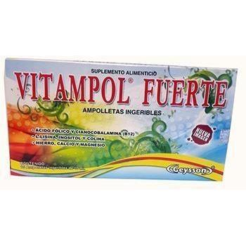 Vitampol Fuerte Ampolletas
