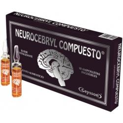 Neurocerebryl Compuesto Ampolletas (Negra)