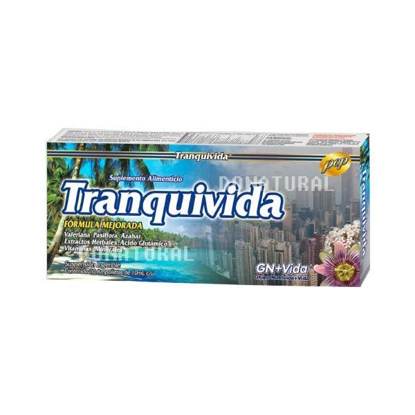 TRANQUIVIDA Ampolletas Ingeribles