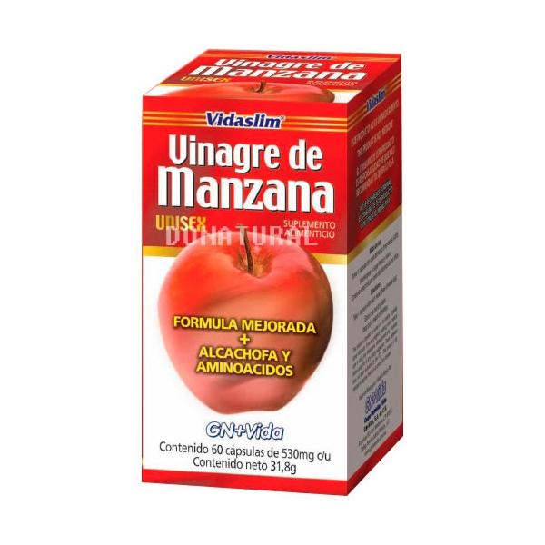 Vinagre De Manzana  con 60 capsulas