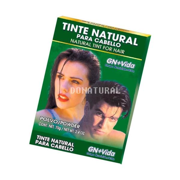 Tinte Natural Henna Para Cabello