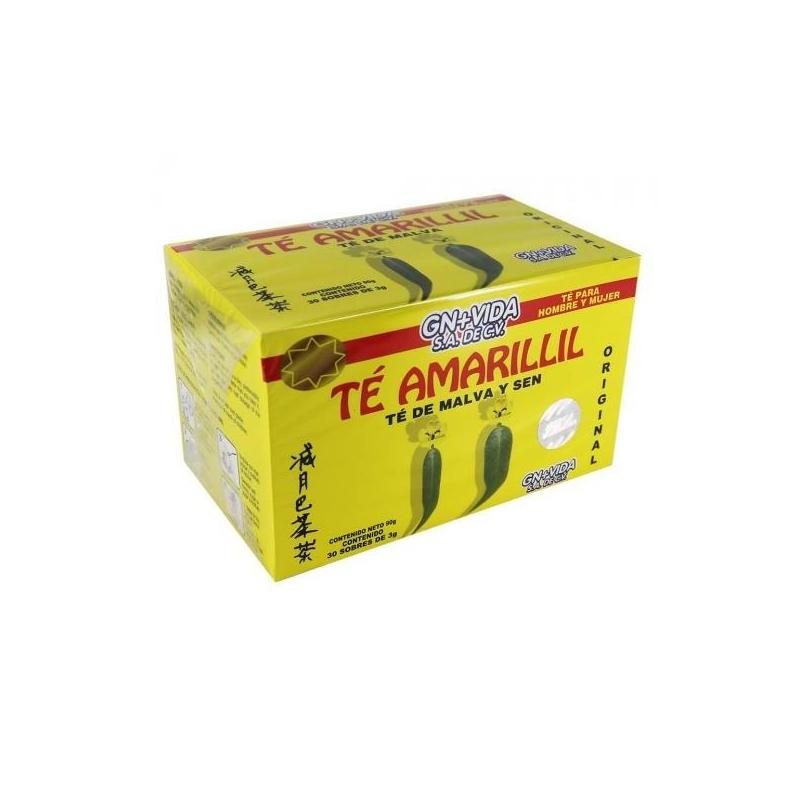 Lipo Delgadil Plus Té Herbal ó Amarillil c- 30 sobres