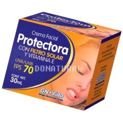 Crema Facial Protectora Con FPS 70